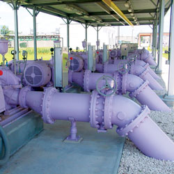 reclaimed water pipes